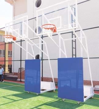 rs 118, 118, basketbol potası, dört direk basketbol potası,