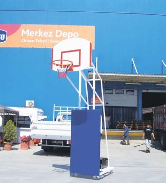ref equipment, ref 120, basketbol potası, merkez depo,