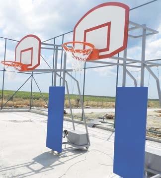 rs 123, reform basketbol potası, dört direk basket potası, ikili basket potası, iki tane basket potası,