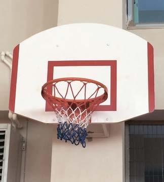 Basketbol Potası Duvara Montaj, Fiber Amerikan Panya, 90x120 cm 20 Sabit Çember, rs 132