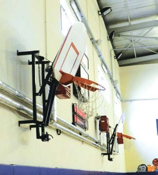 Basketbol Potası, Amerikan Panya 90 x120 cm 20 Sabit Çember, Yükseklik Ayarlı pota,