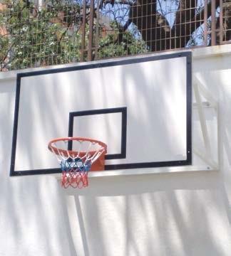 rs 140, Duvara Montajlı basketbol potası, Fiber Panya, 105 x 180 cm 20 Sabit Çember