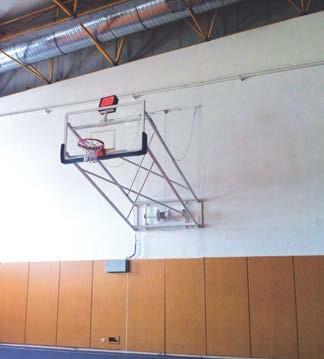 Elektrik Tüp Motorlu pota, yana katlanabnilir basketbol potası, kapanan basketbol potası, rs, 150