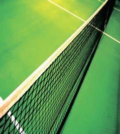 tenis ağı, yeşil tenis ağı, yeşil tenis kortu, çim tenis kortu,