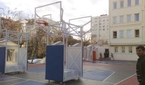 güzel basketbol potası, basket potası, Çarpmalara Karşı Koruyuculu basketbol potası,
