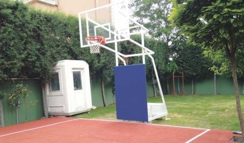 Dört Direkli basket potası, Sabit Çember, Yükseklik Ayarlı basketbol potası,
