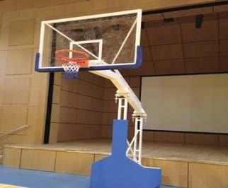 Basketbol Potası, Profesyonel NBA Tip basketbol potası, Portatif Katlanmaz pota, 15 mm pota, Cam Panya basketbol potası, Hidrolik Çemberli basketbol potası, 245 cm basketbol potası, Projeksiyonlu basketbol potası,