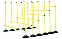 Yüksek atlama çubukları, antrenman çubukları,