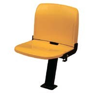 sarı koltuk, tribün koltuğu, temiz koltuk,