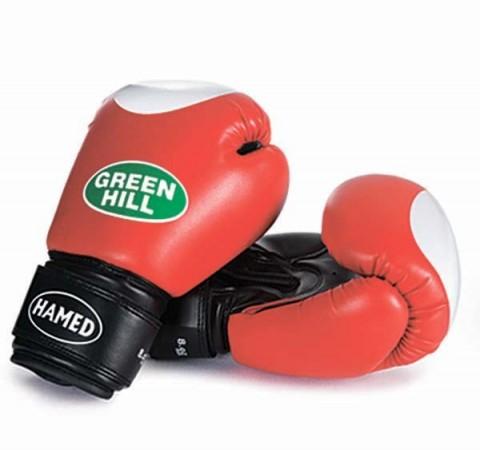 kırmızı eldiven, green hill eldiven, kick boks eldiveni,