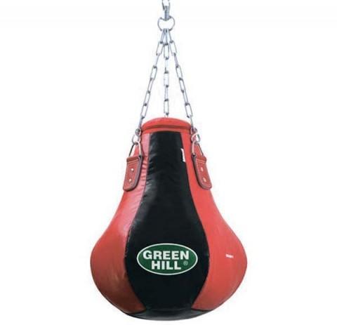 boks torbası, deri boks torbası, siyah kırmızı boks torbası,