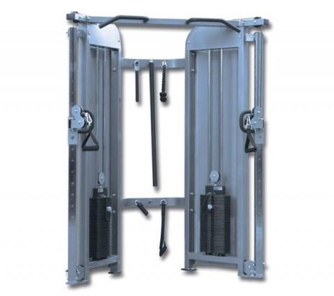 VGK 53, çok fonksiyonlu fitness aleti, çok amaçı fitness aleti, Dual Cable Pulley